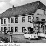 Gaststätte Frankfurter Hof mit Goggo 1959