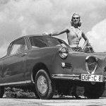 Schöne Tage mit einem schönen Wagen Prototyp des Goggo Coupé (1956)