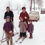 Mit Tante Linde im Schnee (1966)