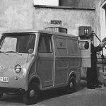 Goggo Transporter TL300 im Einsatz bei der Deutschen Bundespost (1958)