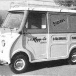 Transporter im Einsatz in Zürich, Schweiz (1959)