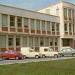 Die spanische Goggo-Lizenz-Produktpalette vor der Fabrik in Mungia (1965)